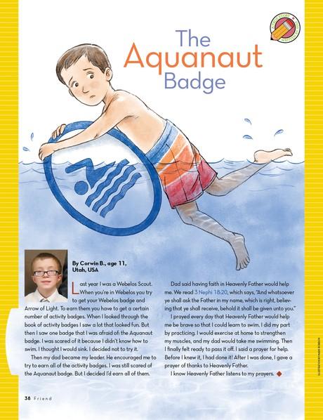 The Aquanaut Badge