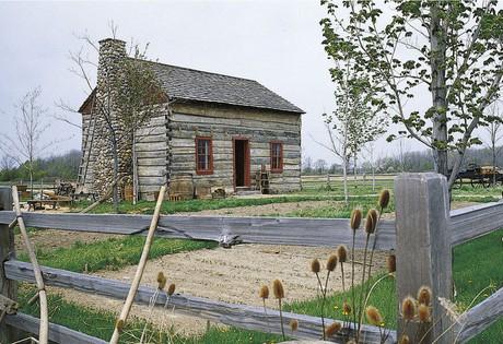Peter Whitmer Sr. Log House