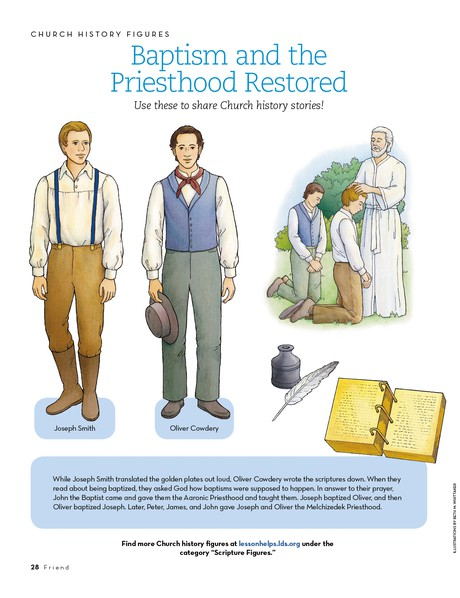 Baptism and the Priesthood Restored
