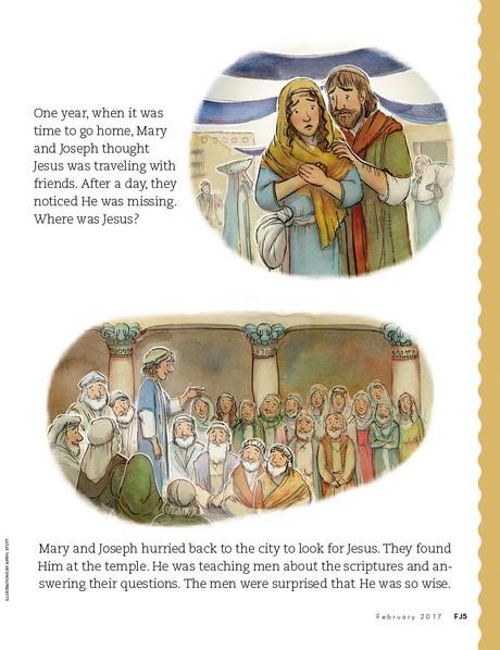 When Jesus Was a Child, 2