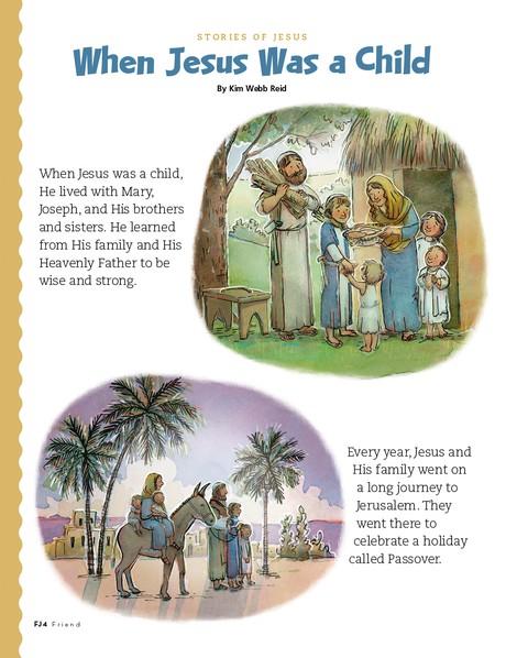 When Jesus Was a Child, 1