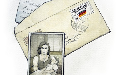 Photo and letters