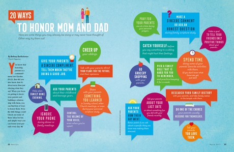 20 Ways to Honor Mom and Dad