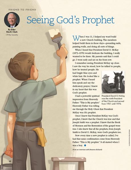 Seeing God's Prophet