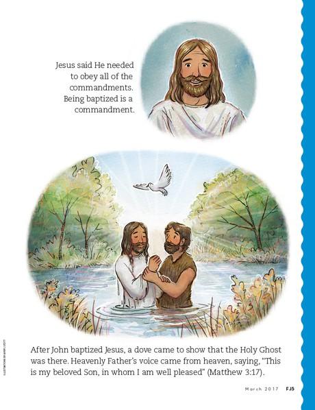 Jesus Was Baptized, 2