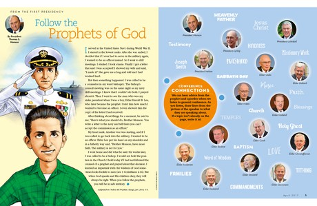 Follow the Prophets of God