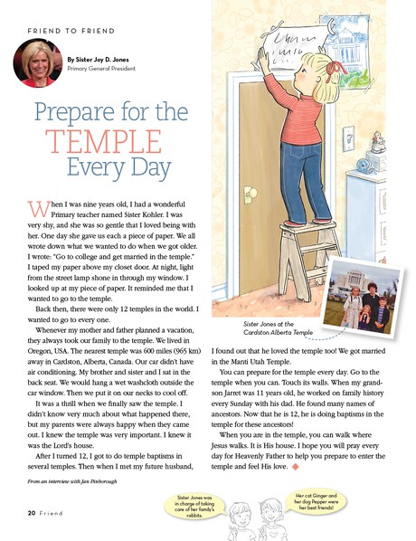 Prepare for the Temple Every Day