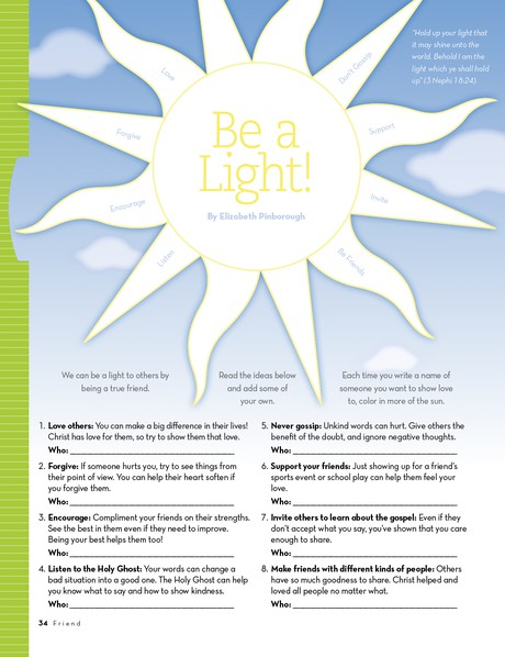 Be a Light!