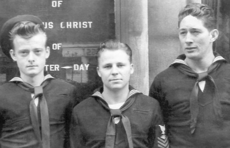 Elder Sabin's father in the navy