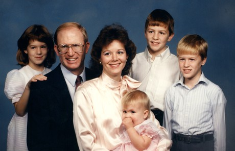Elder Porter with his young family