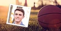 young man and basketball