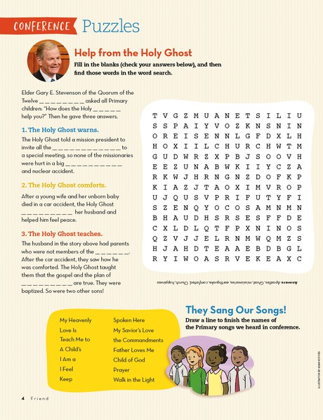 Conference Puzzles
