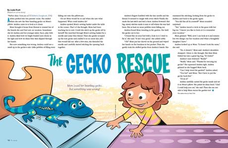 The Gecko Rescue