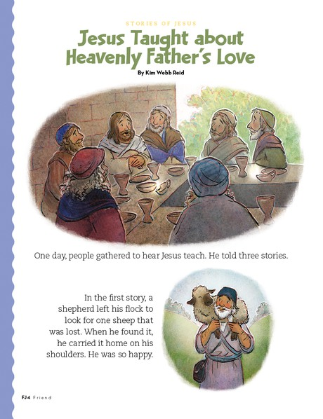 Jesus Taught about Heavenly Father's Love, 1