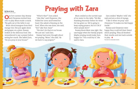 Praying With Zara Friend