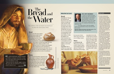 bread and water article