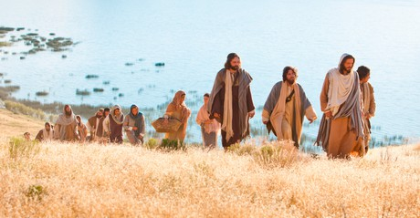 Jesus Christ and His disciples