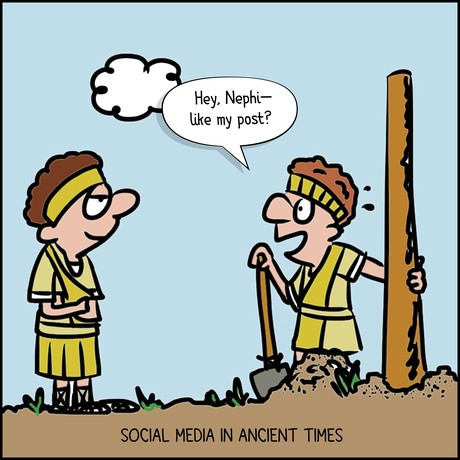 Nephites and a post