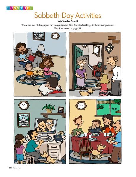 Funstuff: Sabbath-Day Activities