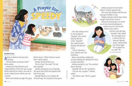 A Prayer for Speedy