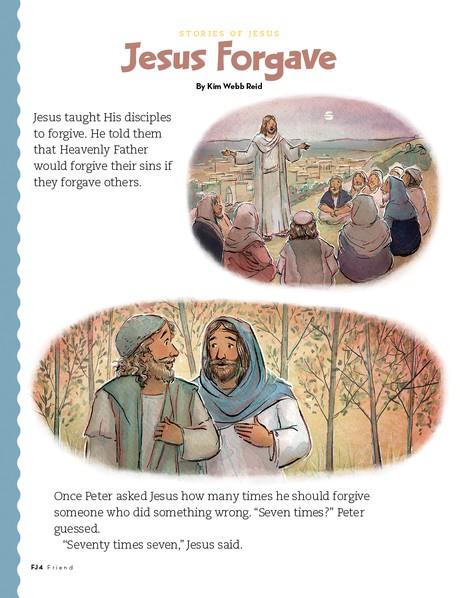 Jesus Forgave, 1