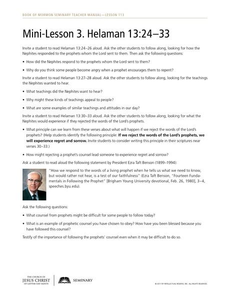 handout, mini-lesson 3