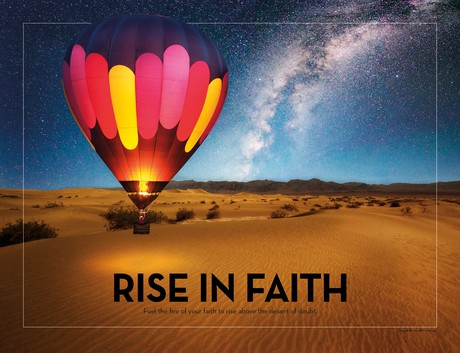 poster rise in faith