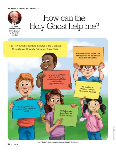 how can the Holy Ghost help me