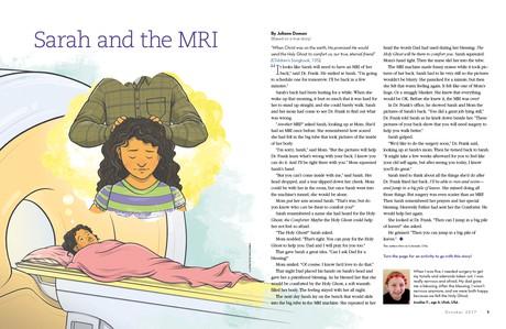 Sarah and the MRI