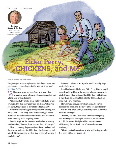 Elder Perry, Chickens, and Me