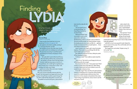 Finding Lydia