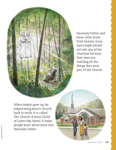 Jesus Visited Joseph Smith, 2