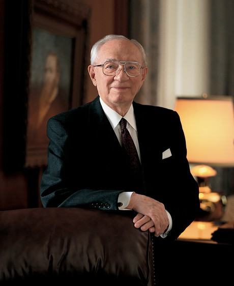 Portrait of President GordonB. Hinckley