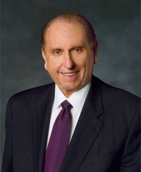 Portrait of President Thomas S. Monson