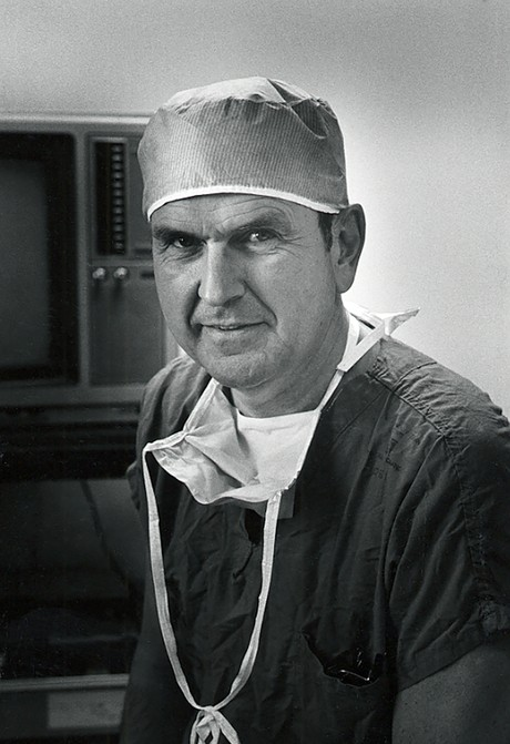 President RussellM. Nelson as a surgeon