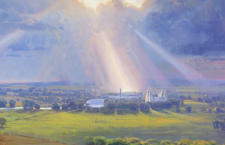Light and spiritual power descending upon general conference