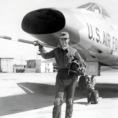 Robert D. Hales as a fighter pilot