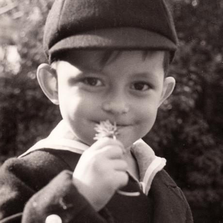 Robert D. Hales as a boy