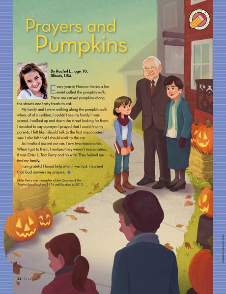 Prayers and Pumpkins