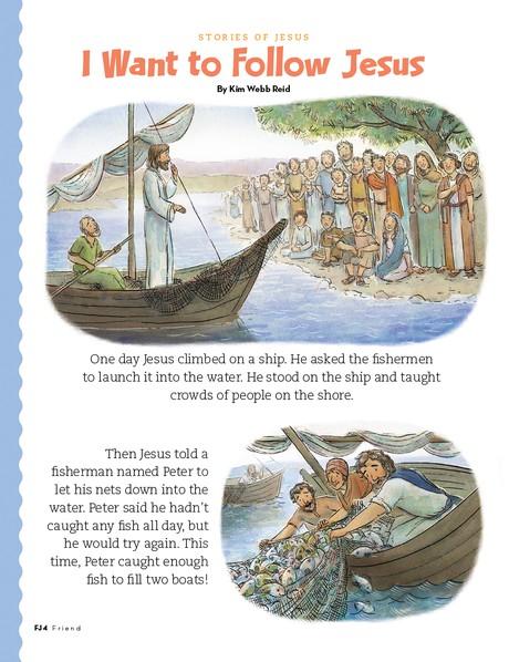 I Want to Follow Jesus, 1