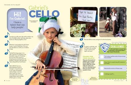 Gabriel's Cello