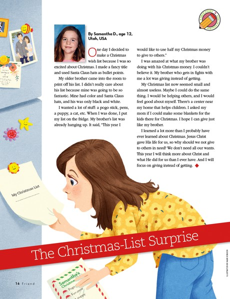 The Christmas-List Surprise