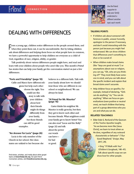 Dealing with Differences - ensign