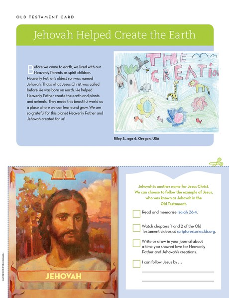 Old Testament Card