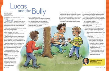 Lucas and the Bully