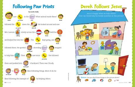 Following Paw Prints