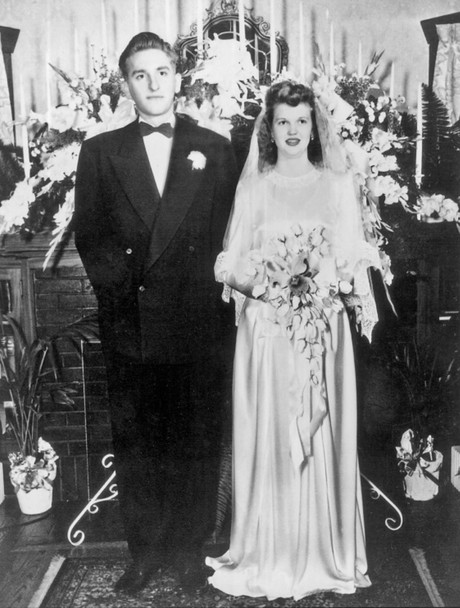 President and Sister Monson on their wedding day