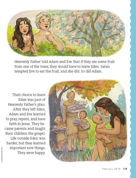 Adam and Eve, 2
