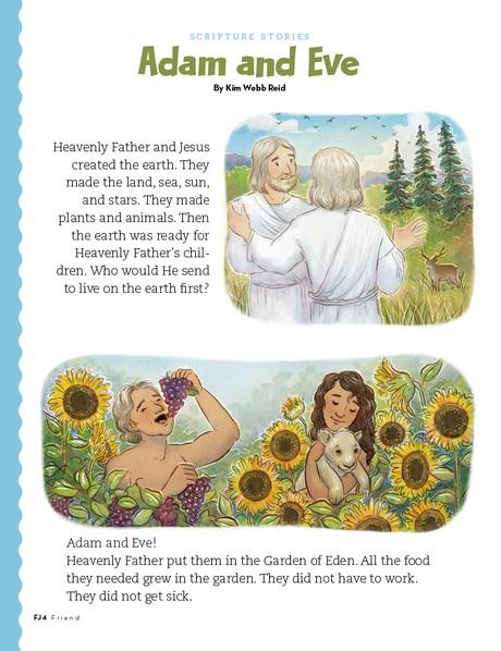 Adam and Eve, 1