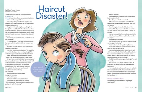 Haircut Disaster!